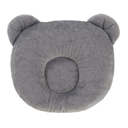 candide P'tit Cojín Panda gris oscuro