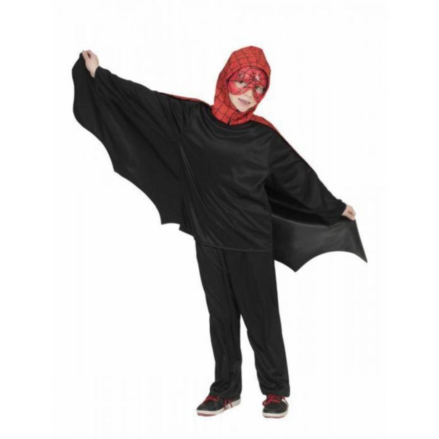 Funny Fashion Carnaval kostuum vleermuis/Spider Kaap