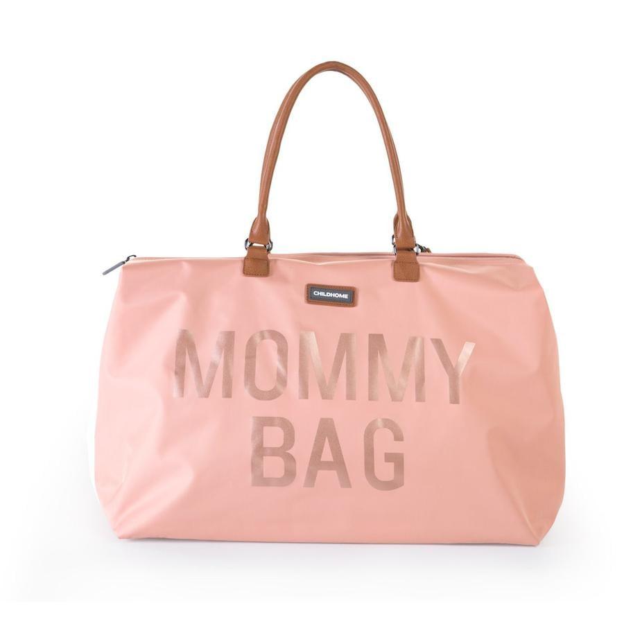 CHILDHOME Borsa Fasciatoio Mommy Bag grande Pink rosa