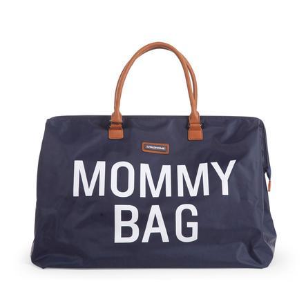 CHILDHOME Hoitolaukku Mommy Bag suuri navy sininen