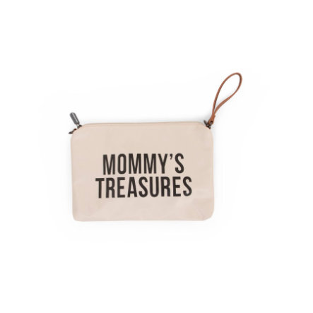 CHILDHOME Mommy Clutch cremewit