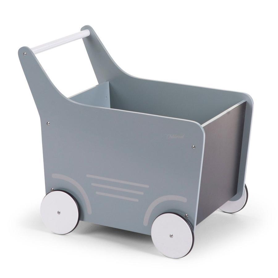 CHILD HOME Chariot en bois Menthe