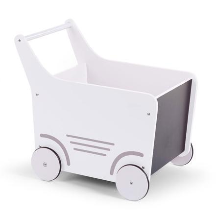 CHILDHOME Houten Wagen Wit