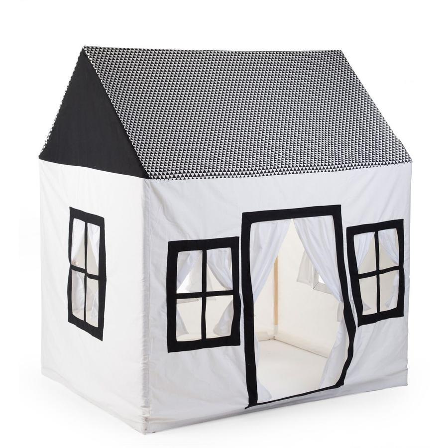 CHILDHOME Maison cabane de jardin enfant coton 125x95x145 cm