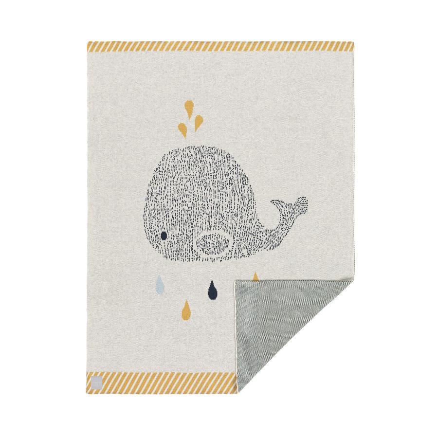 LÄSSIG Decke little water whale