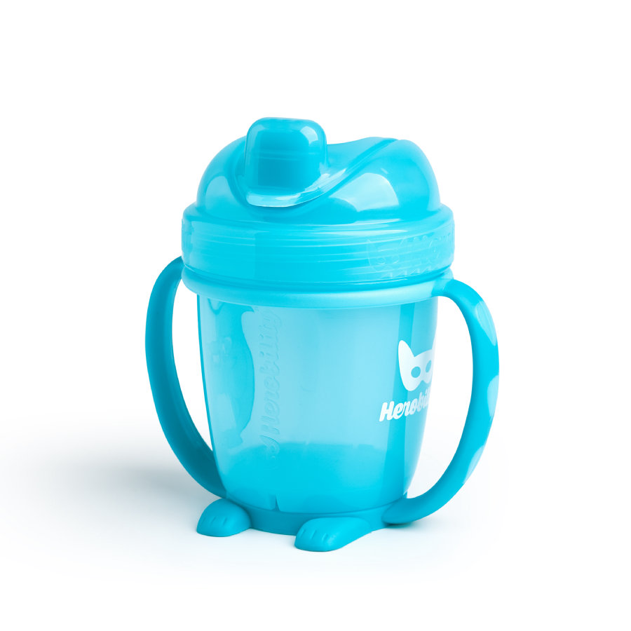 Herobility Drinkbeker Sippy Cup blauw 140ml