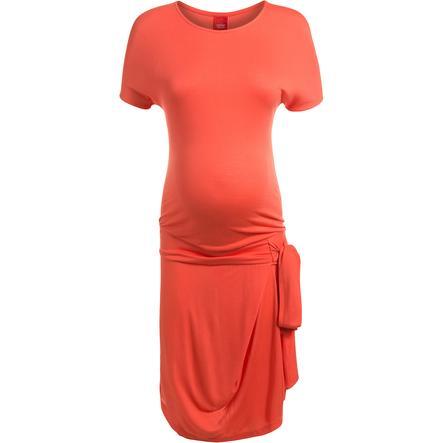 ESPRIT Robe de grossesse hot coral
