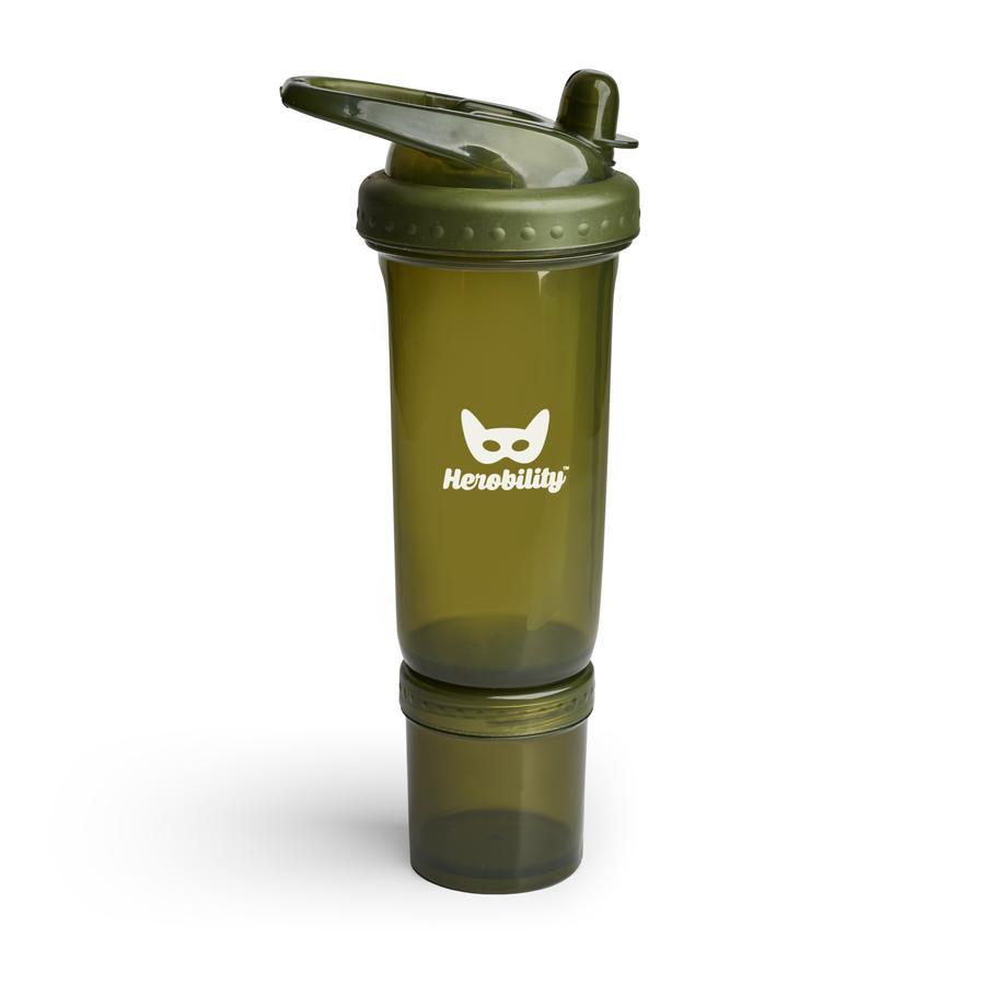 Herobility Trinkflasche Sport grün 300 ml