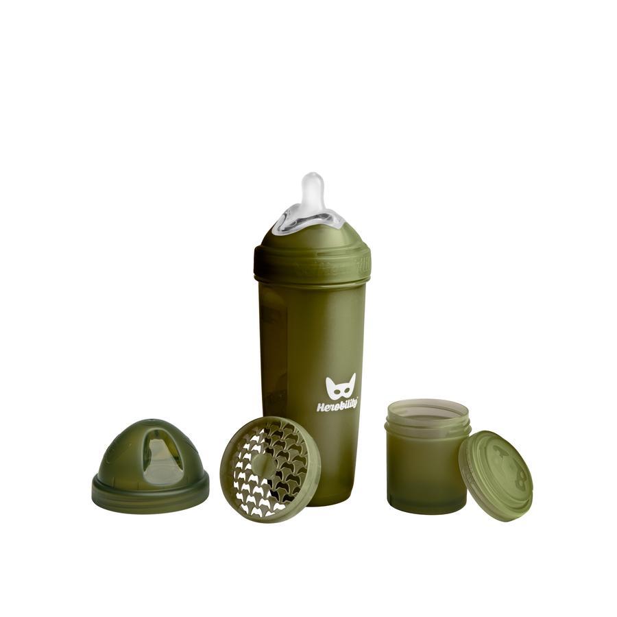 Herobility Biberón verde 340 ml