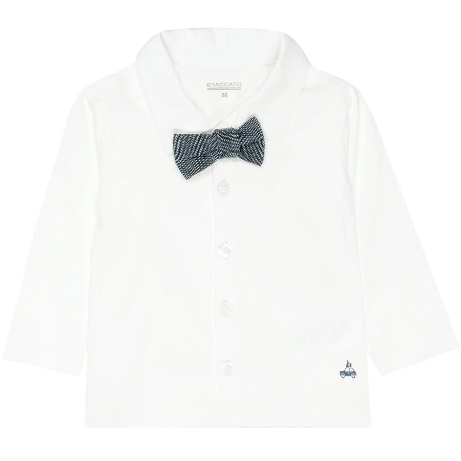 STACCATO Boys Jerseyhemd und Fliege offwhite