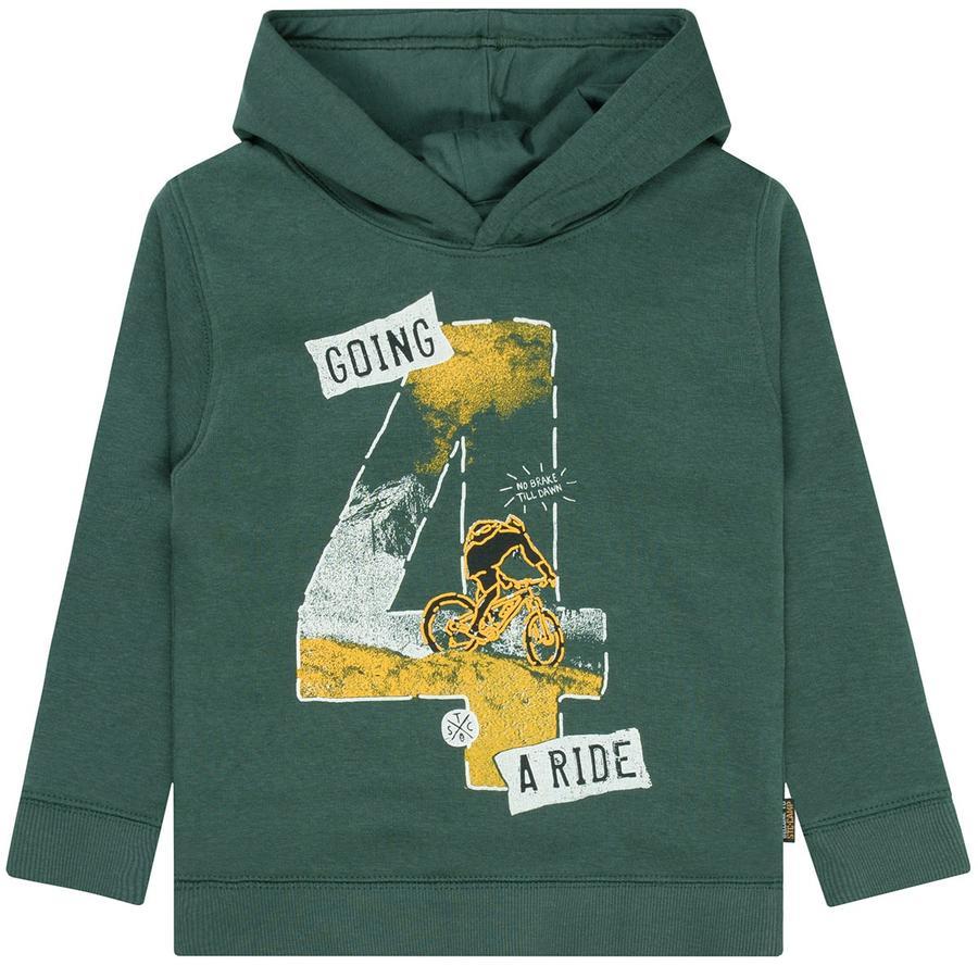 STACCATO tröja med huva mörkgrön
