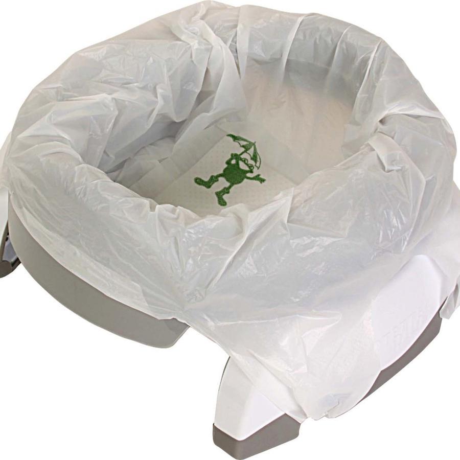 2in1 POTETTE plus Pot bébé de voyage blanc/argenté 18 m+