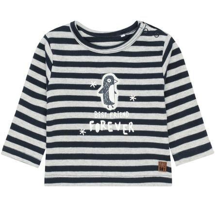 STACCATO Camicia manica lunga a righe blu navy profondo a righe