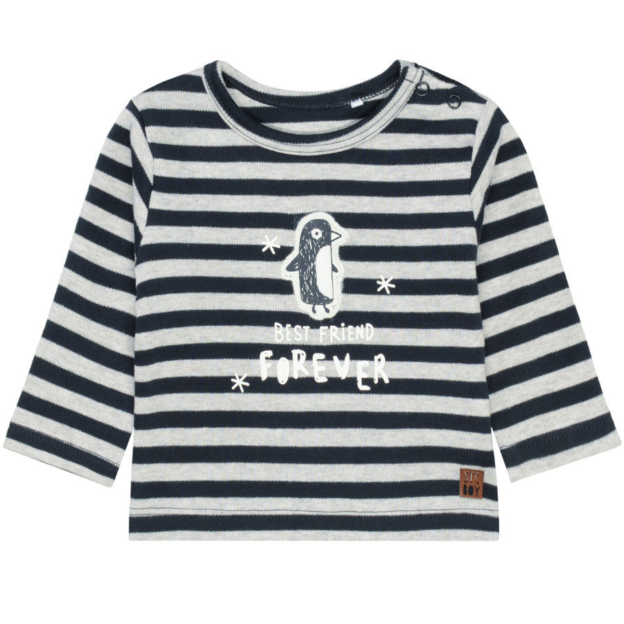 STACCATO Långärmad tröja deep navy