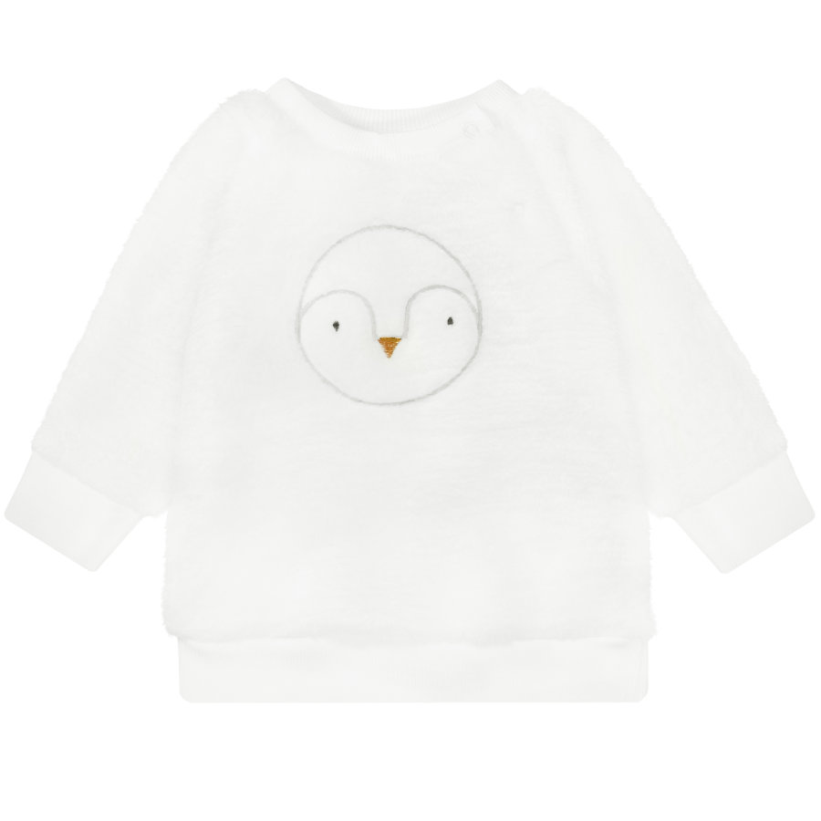 STACCATO Boys Plüsch-Sweatshirt old white