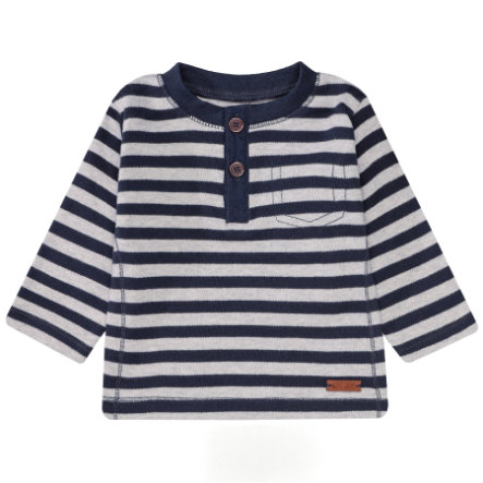STACCATO Boys Langarmshirt deep navy gestreift
