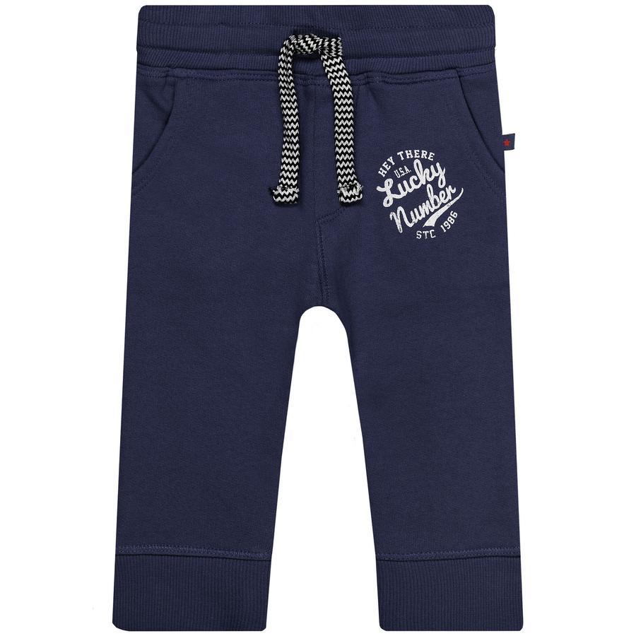 STACCATO Boys joggingbroek gewassen blauw