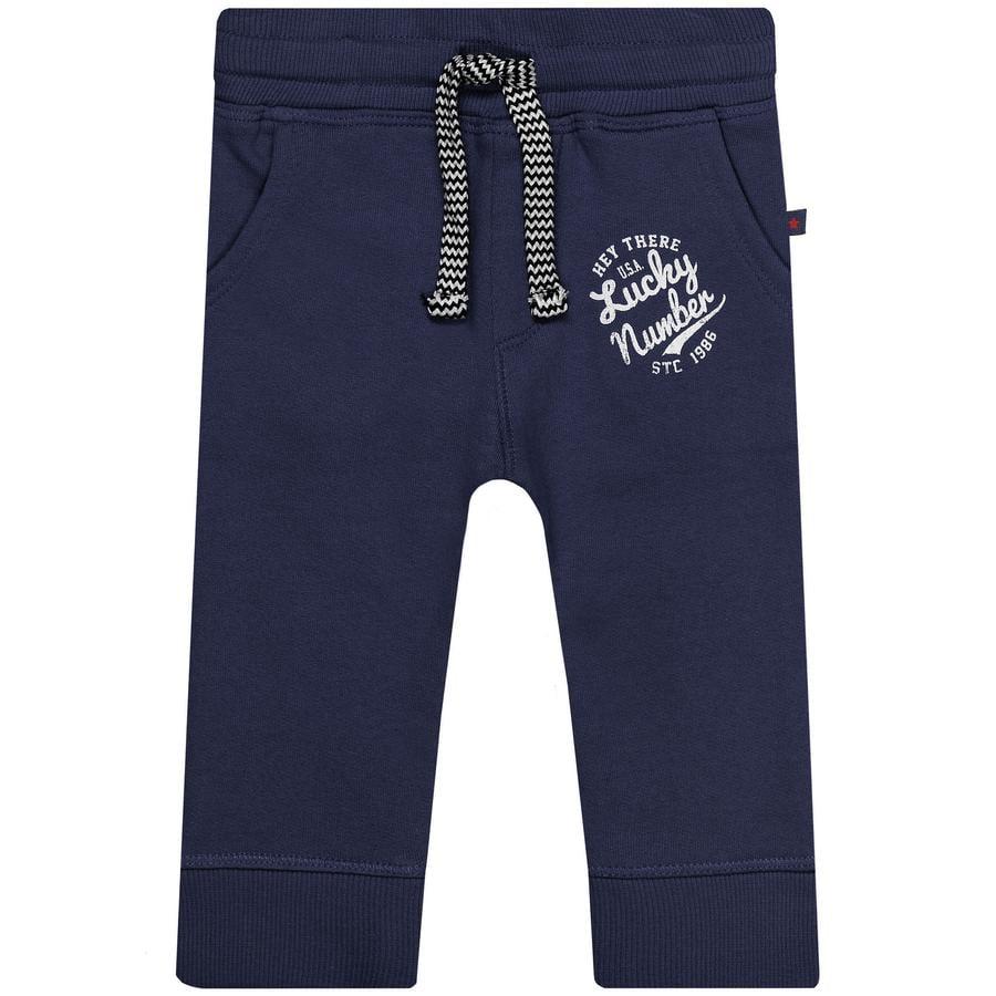 STACCATO Boys spodnie potowe wyprane na niebiesko.