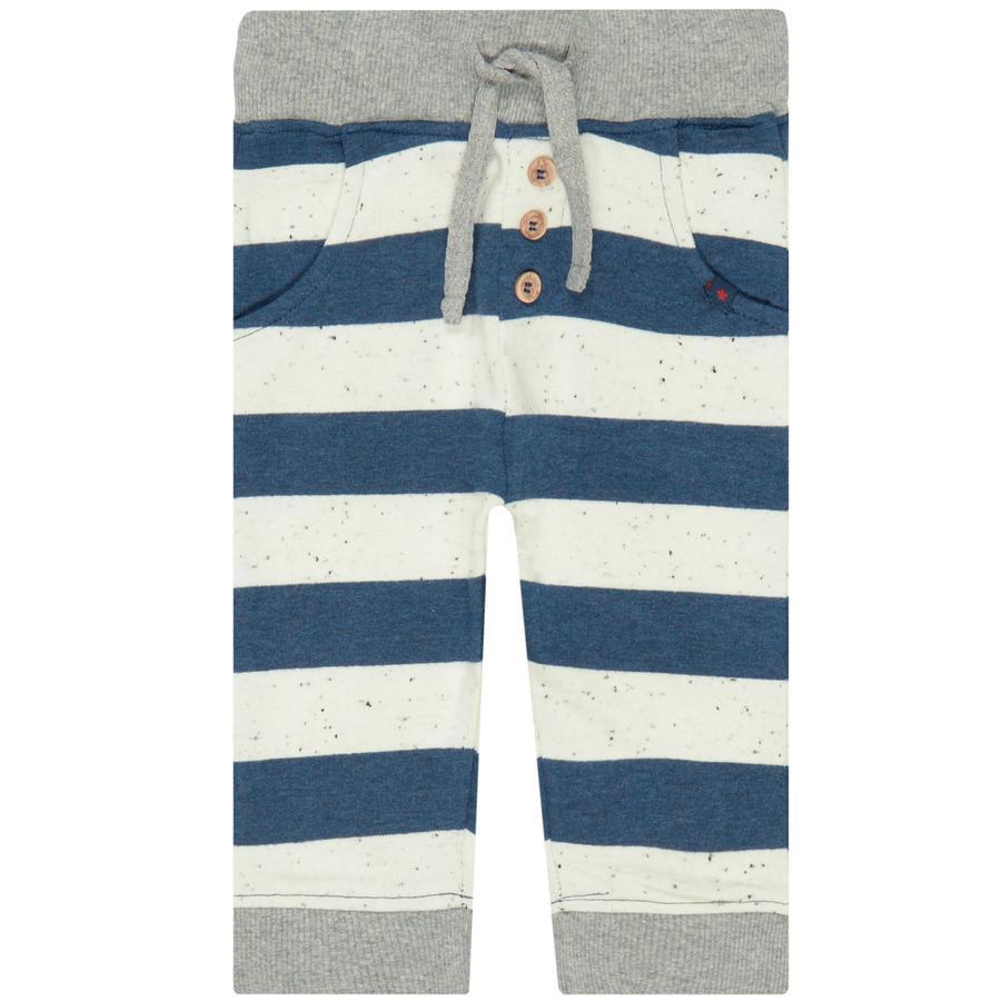 STACCATO Boys pantalon de jogging lavé bleu rayé