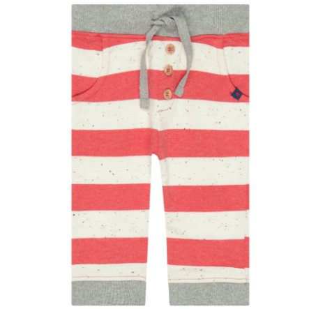 STACCATO Boys Jogginghose light red gestreift