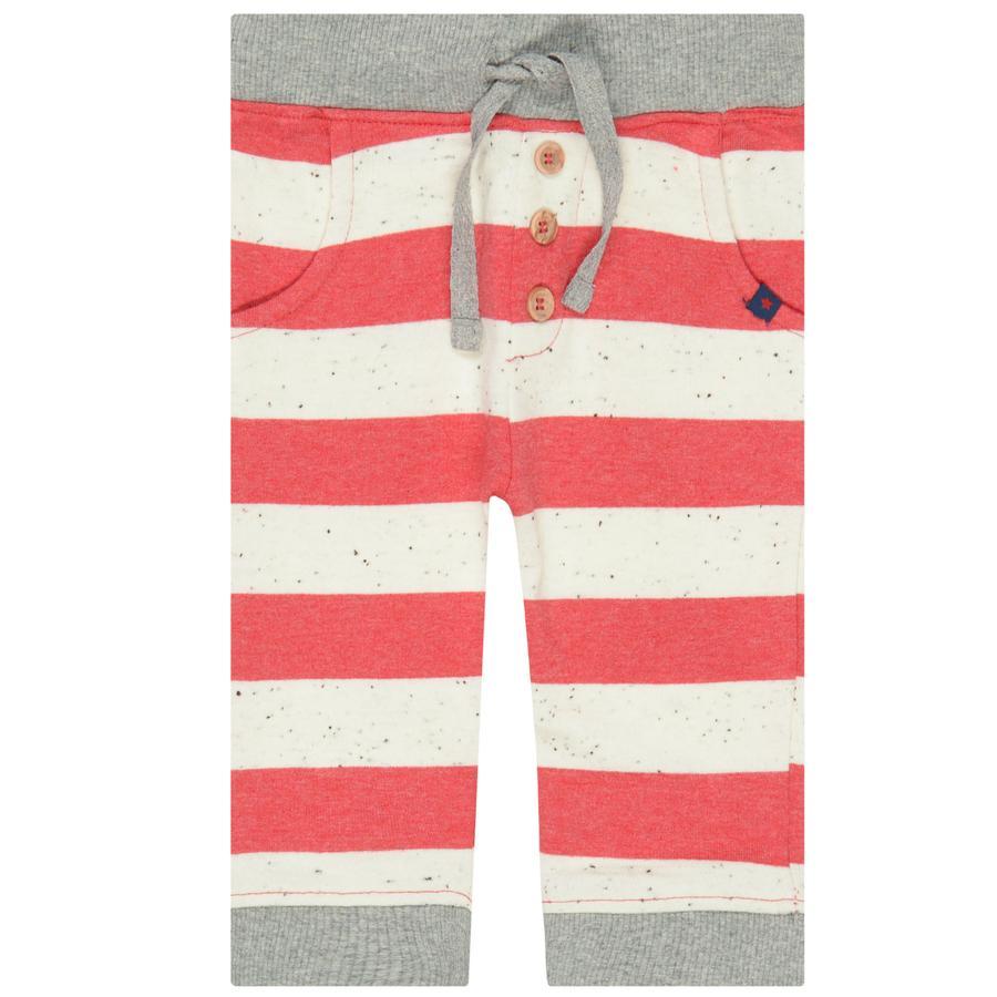 STACCATO Boys pantalon de jogging rayé rouge clair