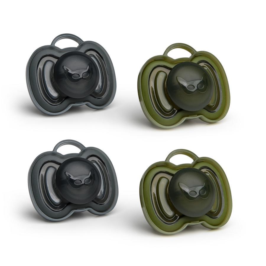 Herobility Smokk 0-6 måneder 4 stk sort / olivengrønt