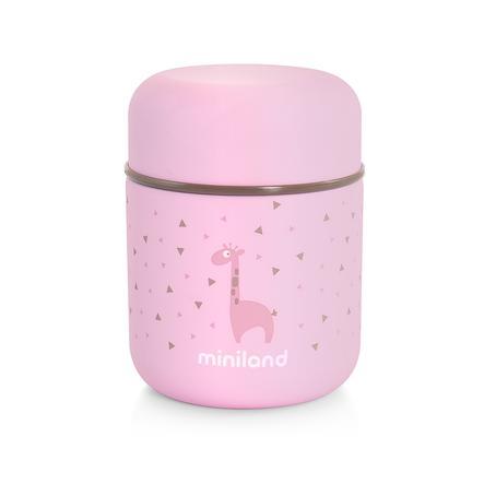 miniland jedwabisty food thermo mini Thermo pojemnik pink 280 ml