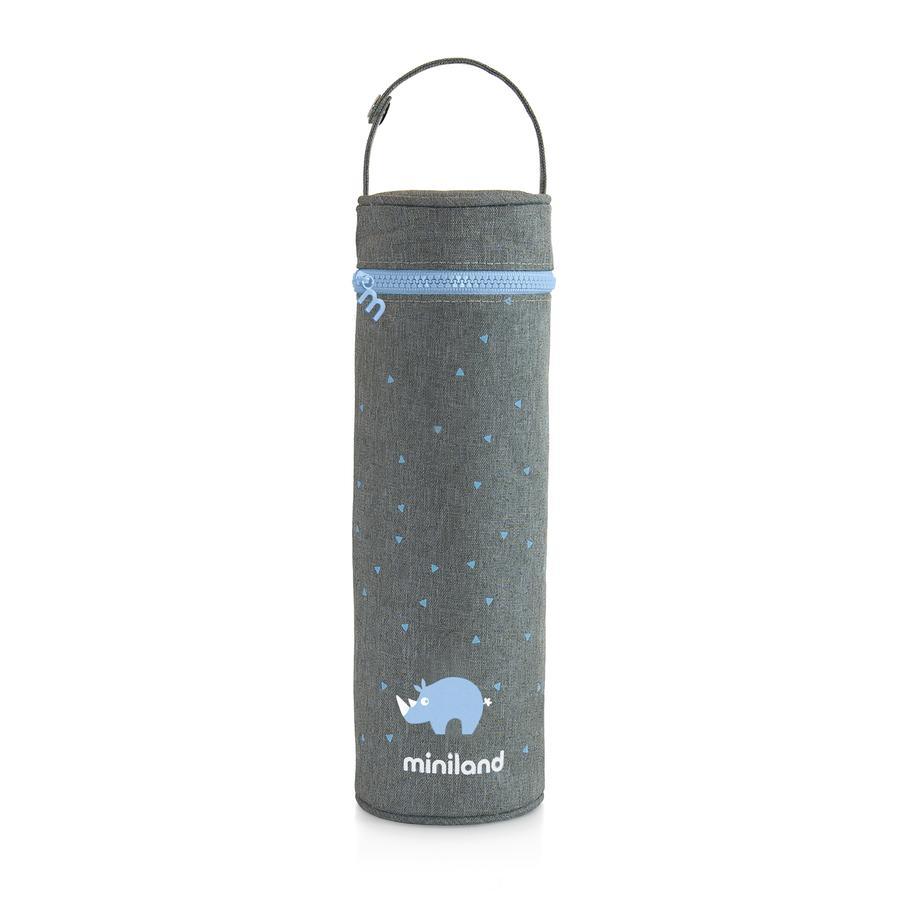 miniland thermibag sac thermique soyeux turquoise 500ml