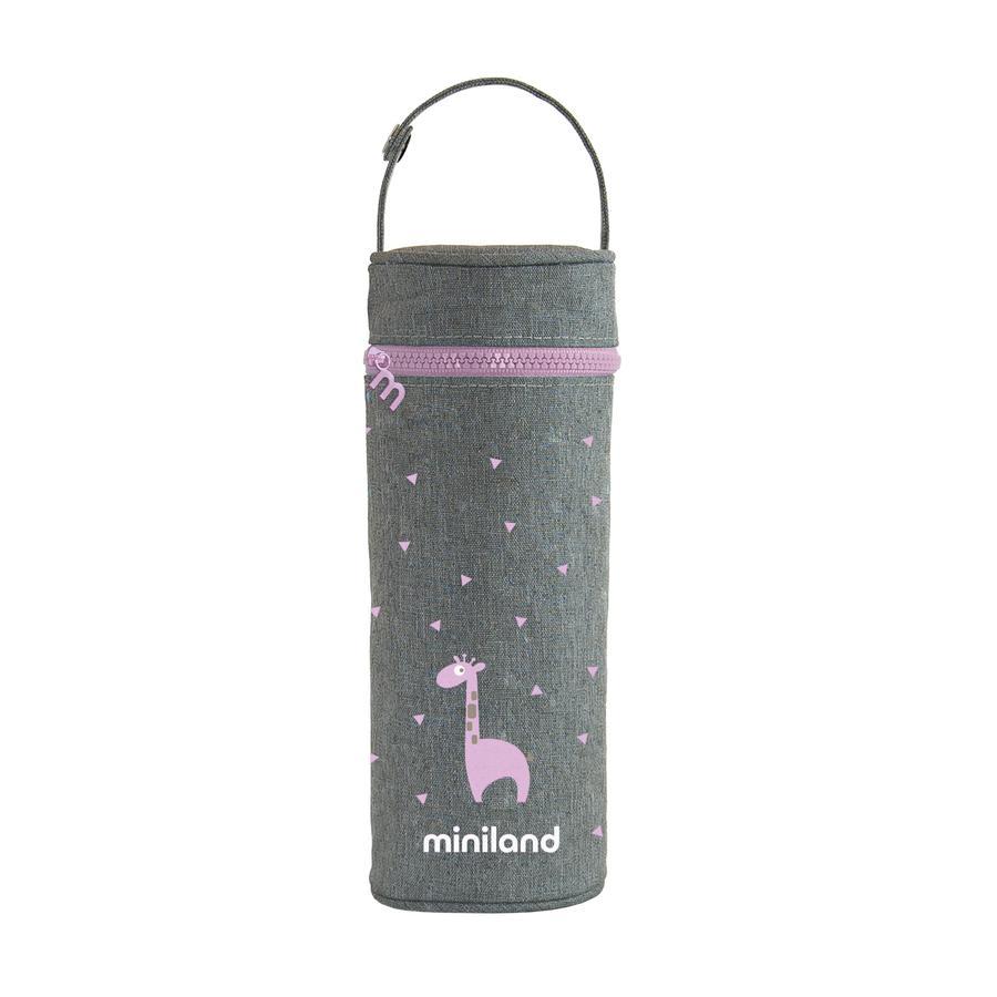 miniland thermibag silkkinen lämpöpussi vaaleanpunainen 350ml