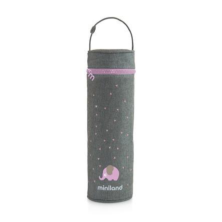 miniland thermibag sac pink thermique soyeux 500ml