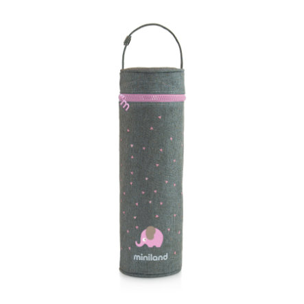myiland termibag silkeaktig varmepose rosa 500ml