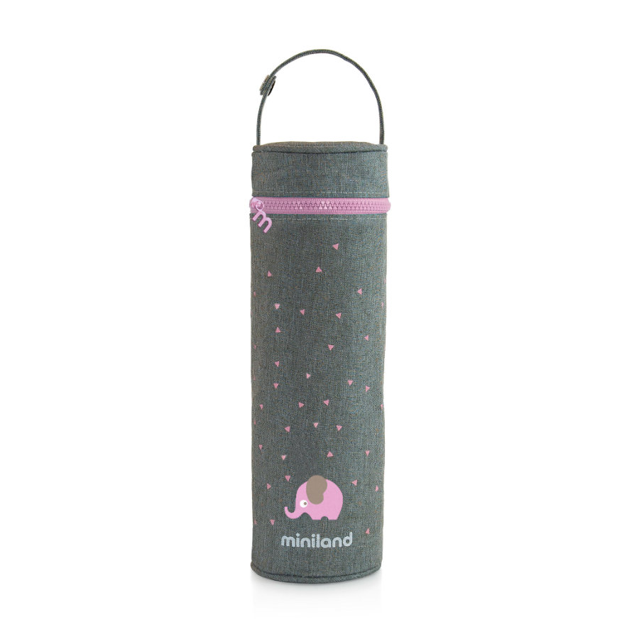 miniland thermibag hedvábný tepelný vak růžový 500ml