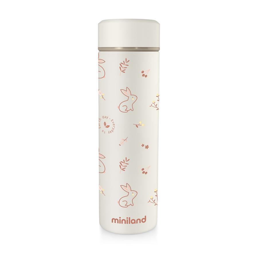 miniland frasco beige s Thermo natural thermo / orange 450 ml