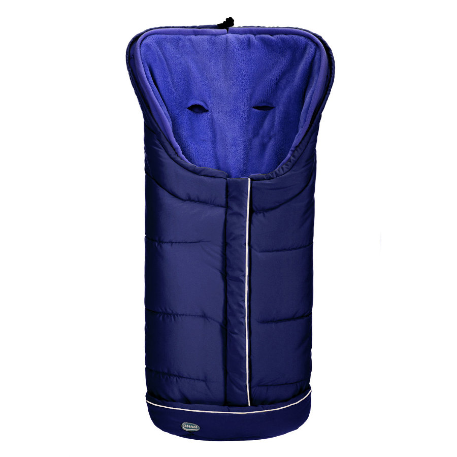 urra Fußsack Vario 2in1 groß marine/blau