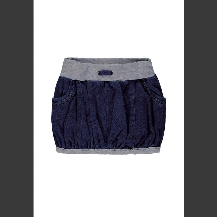 Steiff Girls Skirt strikket jeans blå denim