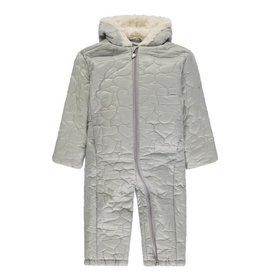 KANZ Girls Schneeanzug mit Kapuze, michro chip/gray