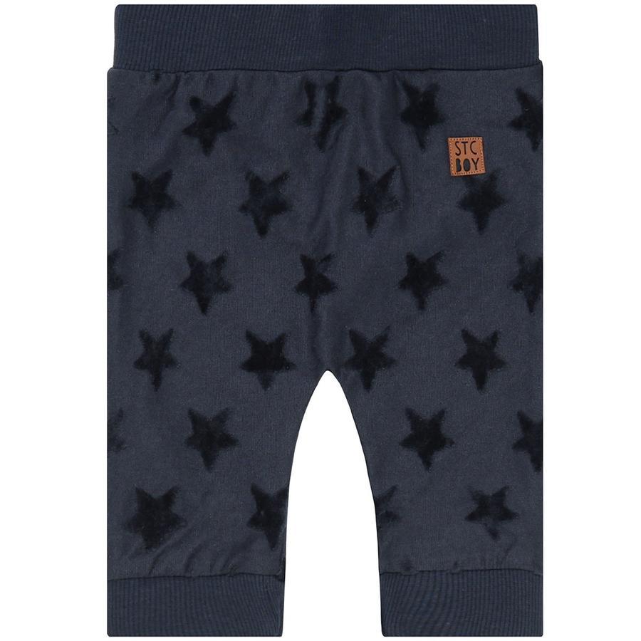 STACCATO Boys Spodnie, ciemna struktura marynarki wojennej