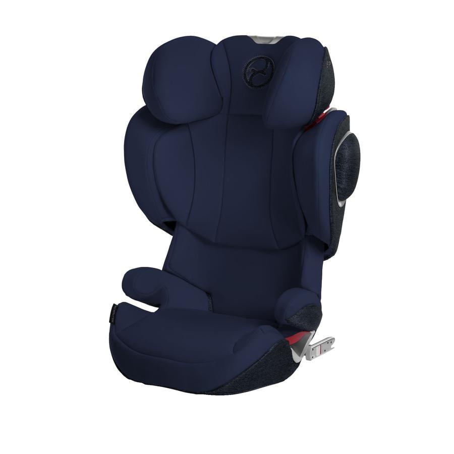 cybex PLATINUM Kindersitz Solution Z-fix Plus Midnight Blue-navy blue