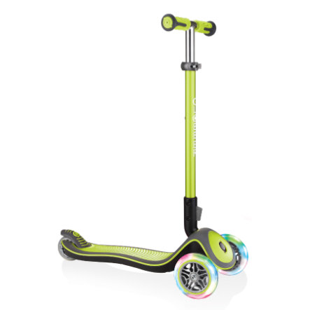 AUTHENTIC SPORTS Globber ELITE  lights, lime green