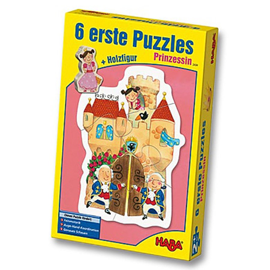 HABA 6 Eerste Puzzels Prinses