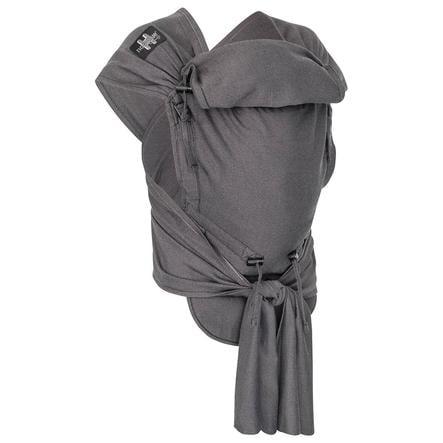 Hoppediz nosítko Hop-Tye Buckle London černo-šedá