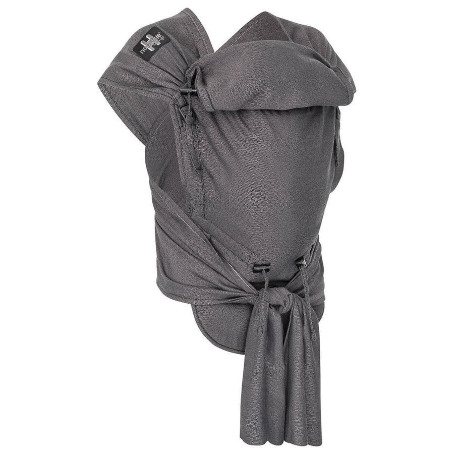 Hoppediz Porte-bébé Hop-Tye Buckle London gris noir