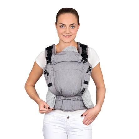 Hoppediz Babytrage Nabaca Basic-Set Regular grau meliert