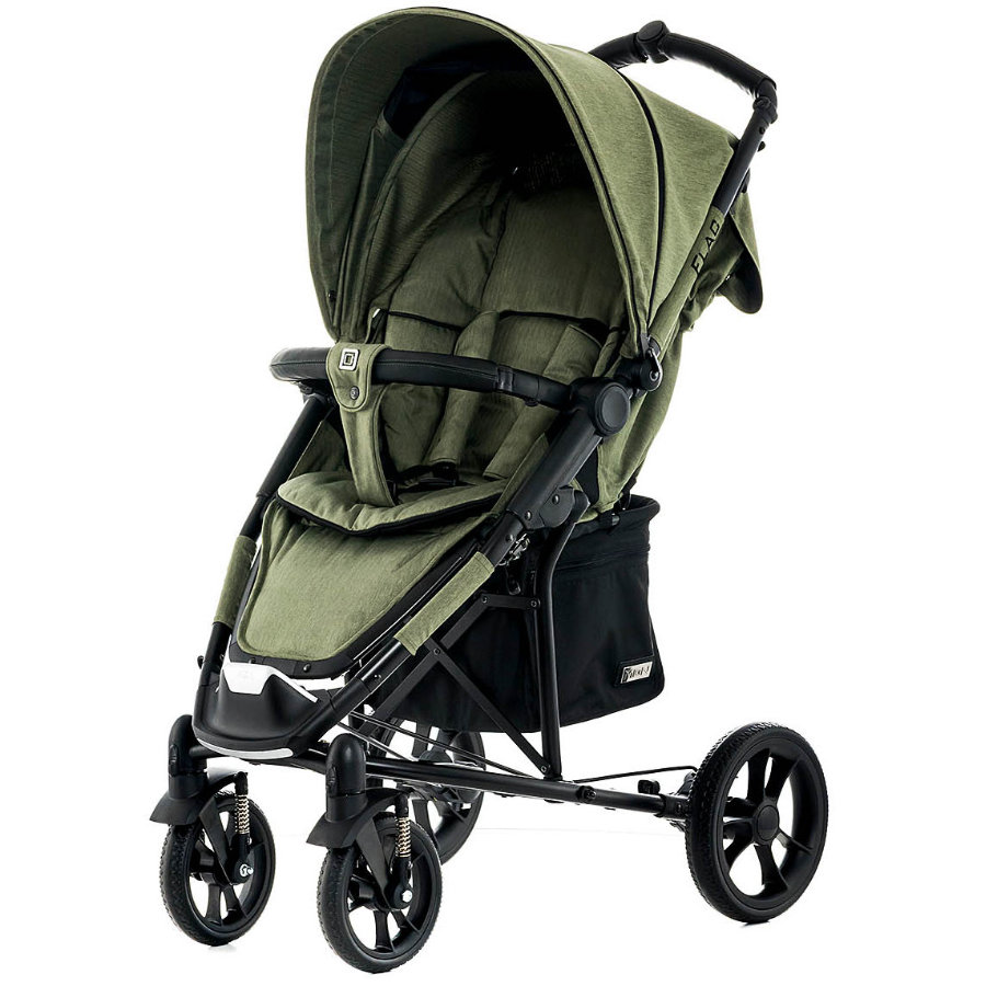 MOON Sittvagn Flac City olive/fishbone