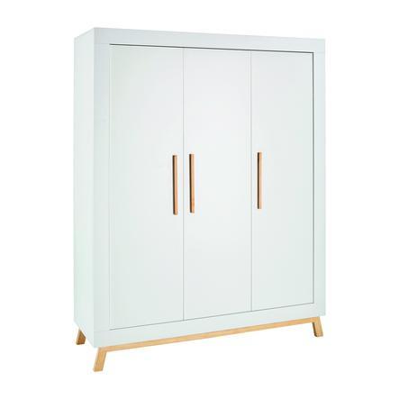 Schardt šatní skříň Miami White třídveřová