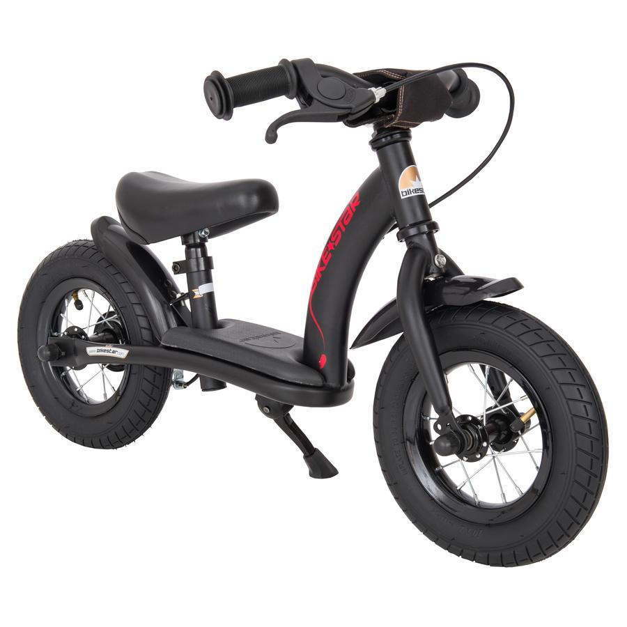 """bikestar Kinderlaufrad 10"""" Classic, schwarz"""