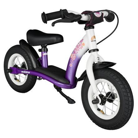 """""""bikestar 10 """"""""Klassisk barnesykkel lilla hvit"""""""