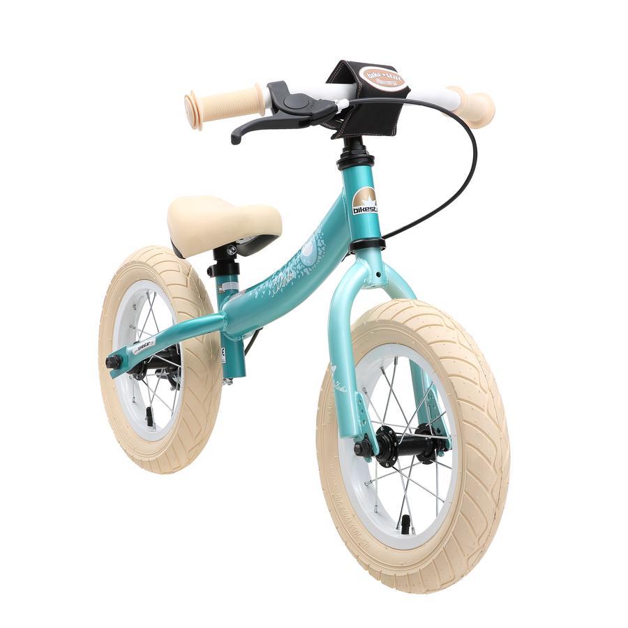 "bikestar Bicicletta senza pedali sicura 12"", Turchese Bird"