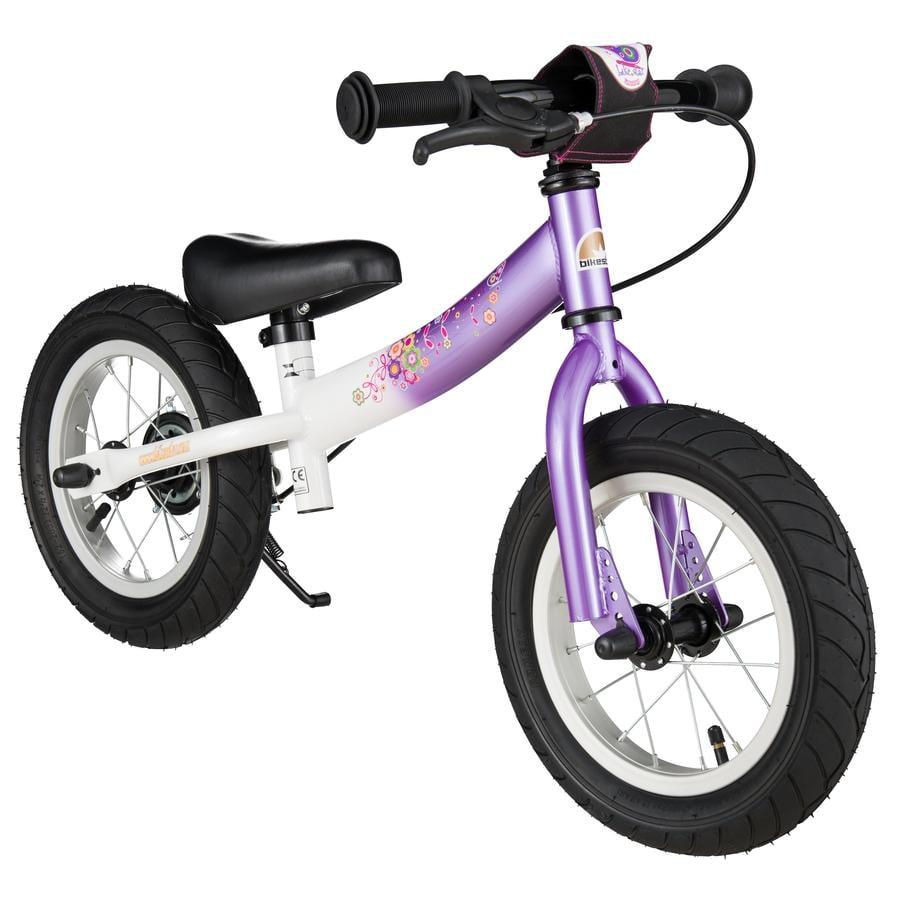 Bikestar bezpečné dětské odrážedlo 12'' Sport lila-bílá