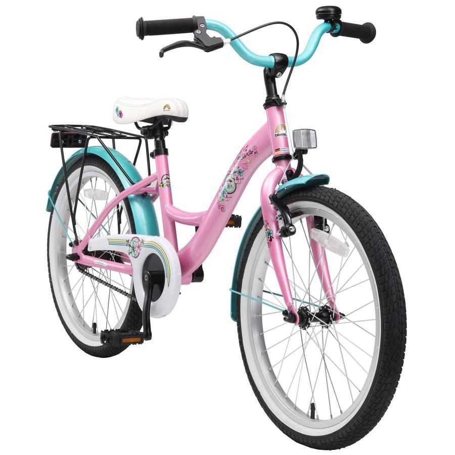 "Bikestar Premium sikkerheds Børnecykel 20"" classic pink"